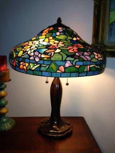 Tutorial de cmo hacer una lampara Tiffany