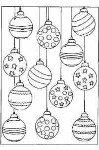 Cmo hacer bolas de navidad para colorear? No te las