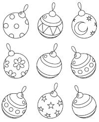bolas-de-navidad-para-colorear | Ayuda para Manualidades