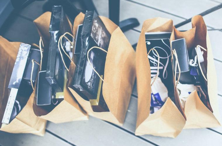 BOlsa de compras en comercios