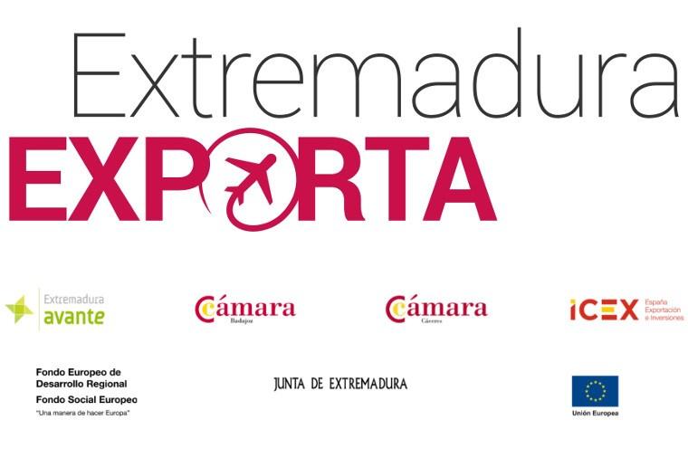 Extremadura Exporta Logotipo