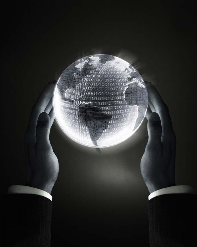 """""""Mundo binario"""" Imagen de la web"""