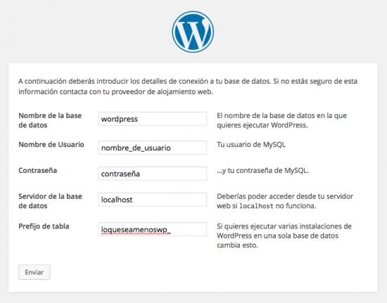 instalar WordPress paso 2