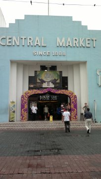 Central Market, KL, Malaysia. it's neater than Bugis of Singapore and covers not only Malaysia's craft but also from its Chinatown, Little India (Brickfields) and much more!