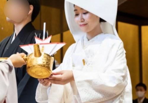 ウエディングレポート椿山荘花嫁