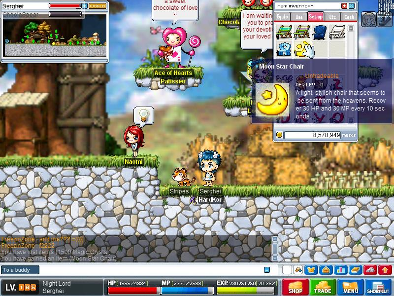 ice fishing chair maplestory 2 seat chairs basilmarket screens videos gameplay talk forum classes