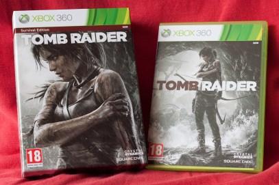 Déballage Tomb Raider Xbox 360 (1)