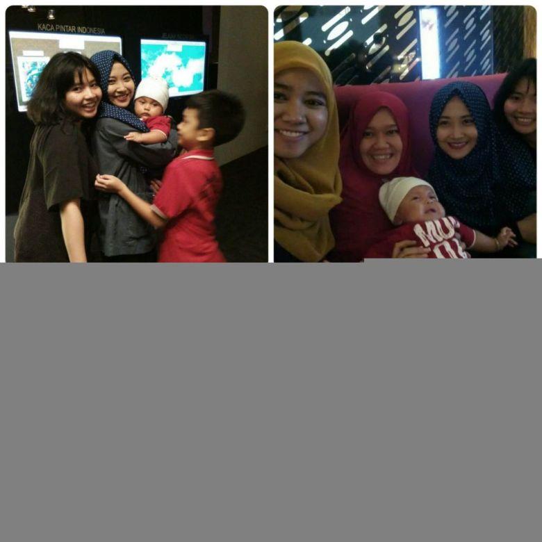 Jakarta - Rayan sama tante2
