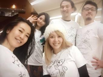 november-2016-rehearsal-ayuo-kotomi-tateiwa-nashaal-hannah-wearing-ayuo-neko-t-shirts