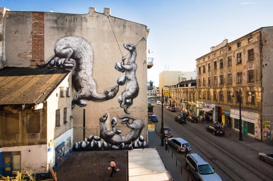 Kota dengan Seni Jalanan Terbaik di Dunia - Seni-Jalanan-Lukisan-Mural-di-Kota-Bethlehem-di-Lodz-di-Polandia-2