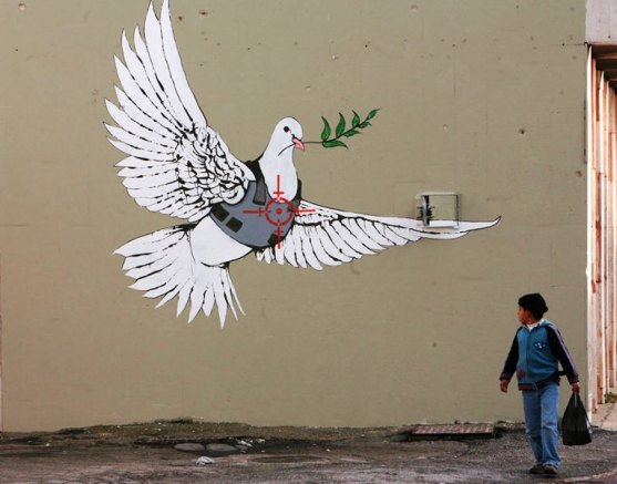 Kota dengan Seni Jalanan Terbaik di Dunia - Seni-Jalanan-Lukisan-Mural-di-Kota-Bethlehem-di-Tepi-Barat-2