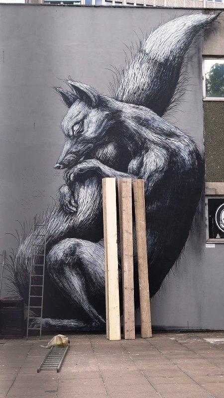 Kota dengan Seni Jalanan Terbaik di Dunia - Seni-Jalanan-Lukisan-Mural-di-Kota-Bristol-di-Inggris-1
