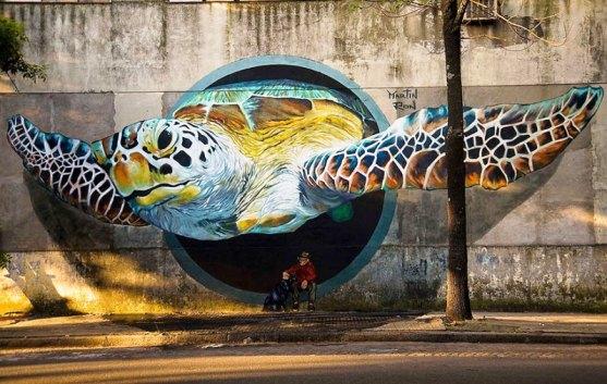 Kota dengan Seni Jalanan Terbaik di Dunia - Seni-Jalanan-Lukisan-Mural-di-Kota-Buenos-Aires-di-Argentina-1