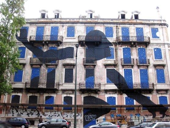 Kota dengan Seni Jalanan Terbaik di Dunia - Seni-Jalanan-Lukisan-Mural-di-Kota-Lisbon-di-Portugal-1