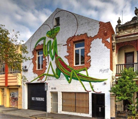 Kota dengan Seni Jalanan Terbaik di Dunia - Seni-Jalanan-Lukisan-Mural-di-Kota-Melbourne-di-Australia-2