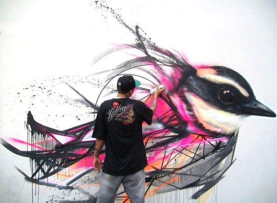 Kota dengan Seni Jalanan Terbaik di Dunia - Seni-Jalanan-Lukisan-Mural-di-Kota-Sao-Paulo-di-Brazil-1