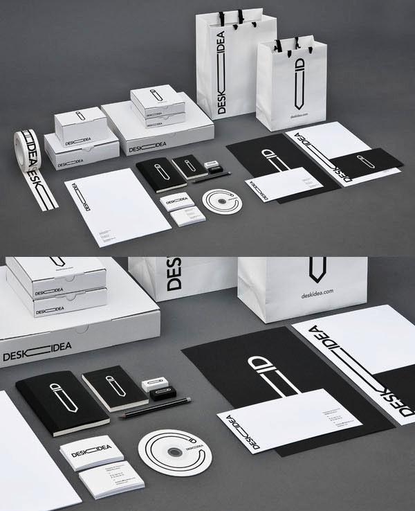 Contoh desain corporate identity design
