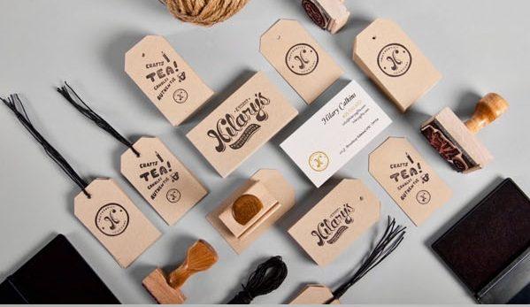 34 Contoh Desain Corporate Identity Design Untuk Branding Bisnis Perusahaan Percetakan di Karawang