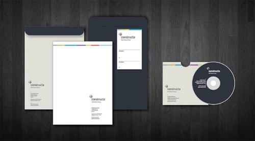 Contoh Desain Kop Surat dan Corporate Identity Inspiratif 04