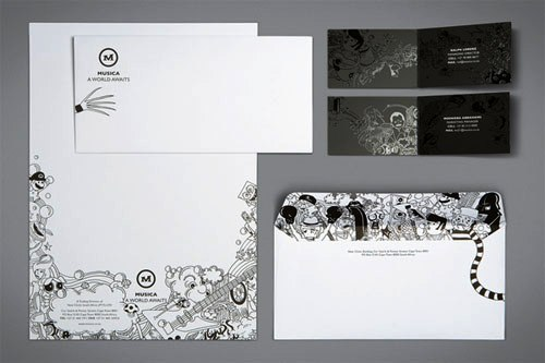 Contoh Desain Kop Surat dan Corporate Identity Inspiratif 21