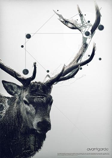 Contoh Poster dengan Desain Modern dan Elegan 13
