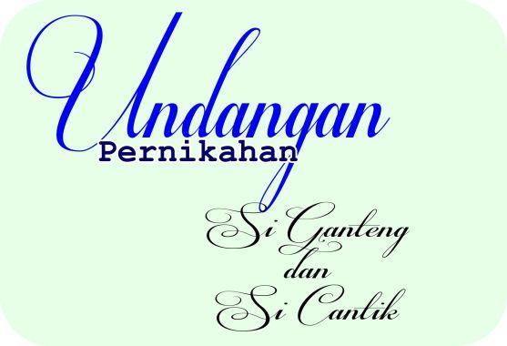 Contoh Desain Logo dengan Tema Telapak Tangan - 22-Contoh-font-buat-desain-undangan-pernikahan-Respective-TTF-Font