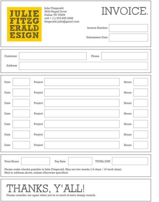 Contoh Faktur Invoice Tagihan - Contoh Desain Invoice Faktur Tagihan 13