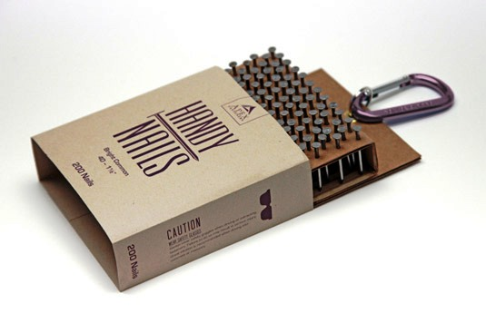 packaging design - Nail packaging