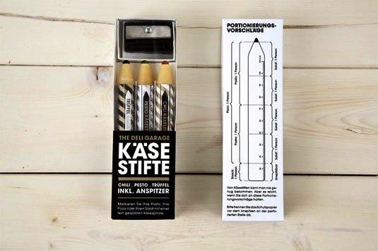 Contoh Desain Kemasan Unik Menarik - Contoh desain kemasan unik menarik - packaging design - Parmesan Pencils