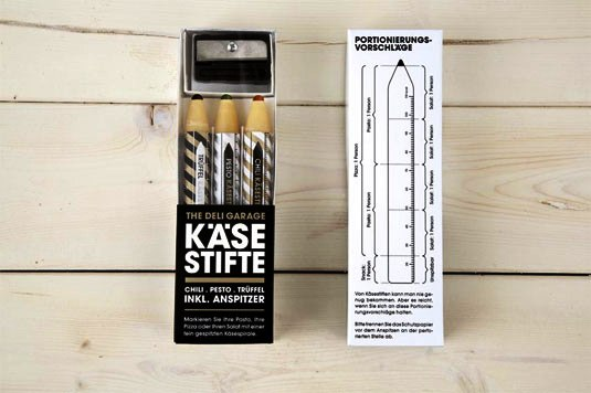 packaging design - Parmesan Pencils