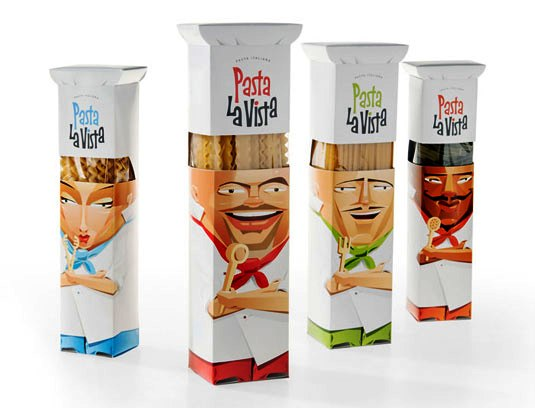 packaging design - Pasta La Vista