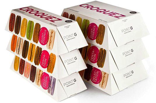 Contoh Desain Kemasan Unik Menarik - Contoh desain kemasan unik menarik - packaging design - Point G Macaroons