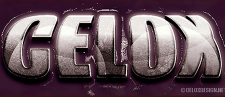 Tutorial Membuat Effek Teks di Photoshop - 3D-Bulge-Text-Effect-tutorial-Crea