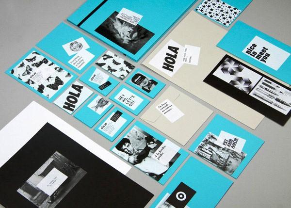 Desain Stasioneri Inspiratif Siap Print dan Cetak - Clase BCN Stationery