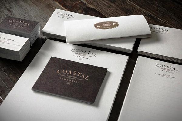 Desain Stasioneri Inspiratif Siap Print dan Cetak - Coastal Financial