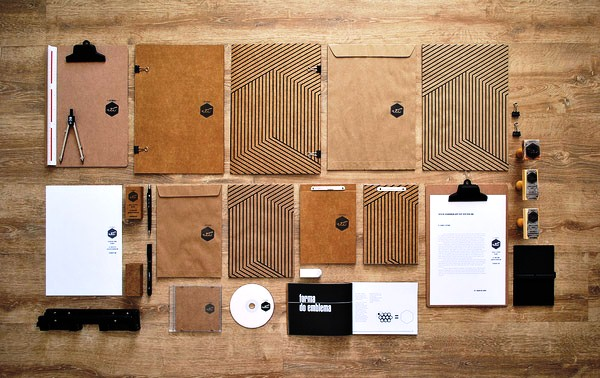 Desain Stasioneri Inspiratif Siap Print dan Cetak - Estúdio Vii Visual Identity