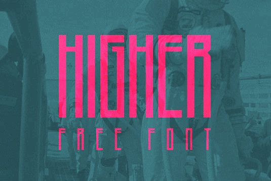 Download 100 Font Gratis untuk Desain Grafis dan Web - Higher Font