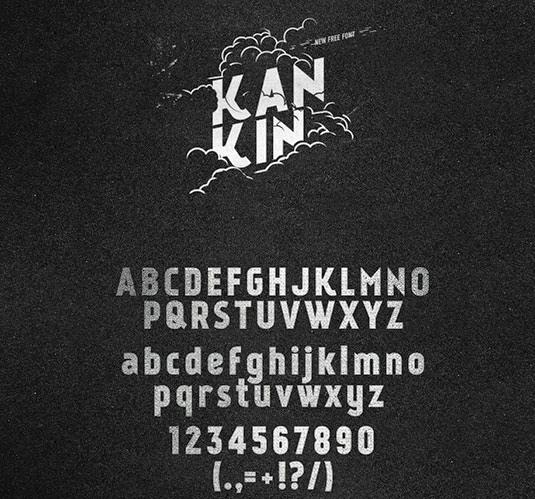 Download 100 Font Gratis untuk Desain Grafis dan Web - KanKin Free Font