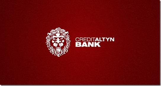Contoh Desain Logo Institusi Keuangan - Logo Keuangan Creditaltyn
