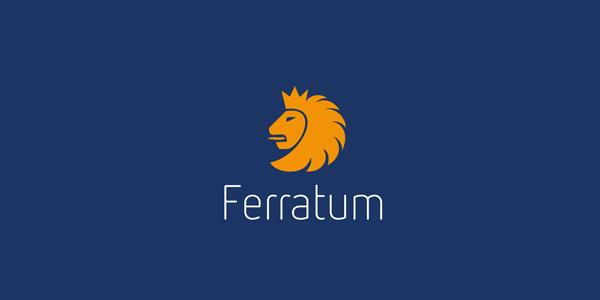 Contoh Desain Logo Institusi Keuangan - Logo Keuangan Ferratum