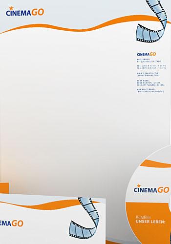 Contoh Desain Logo pada Kop Surat