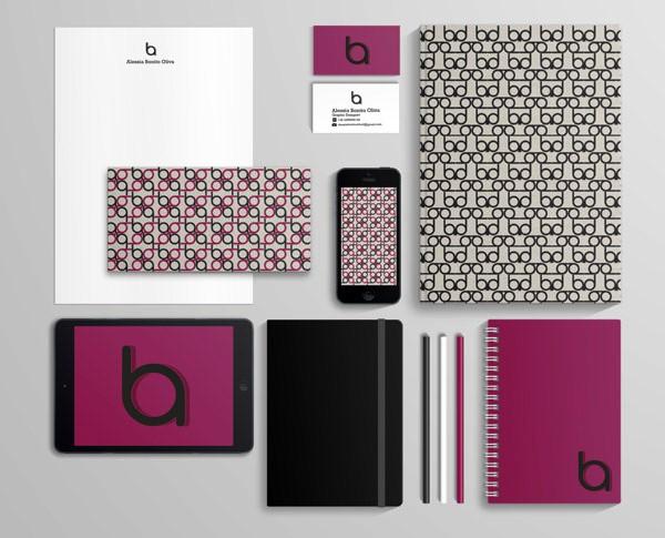 Desain Stasioneri Inspiratif Siap Print dan Cetak - Personal Brand