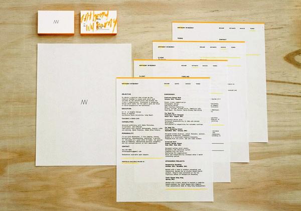 Desain Stasioneri Inspiratif Siap Print dan Cetak - Personal Branding