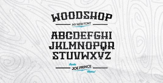 Download Free Font Gratis for Graphic Design and Web - Woodshop-Free-Font