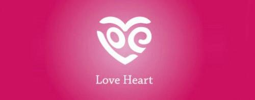 Contoh Logo Bertemakan Hati Love Heart - love-heart