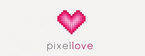 Contoh Logo Bertemakan Hati Love Heart - pixel-love