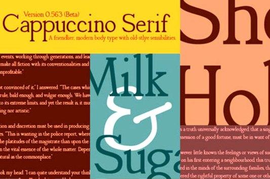 Font Cantik Free Download Gratis - Cappuccino