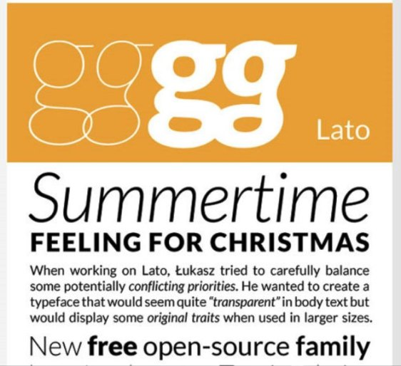 Font Cantik Free Download Gratis - Lato