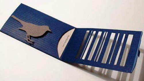 Contoh Desain Kartu Nama yang Unik - bird-cage-cutting-business-card