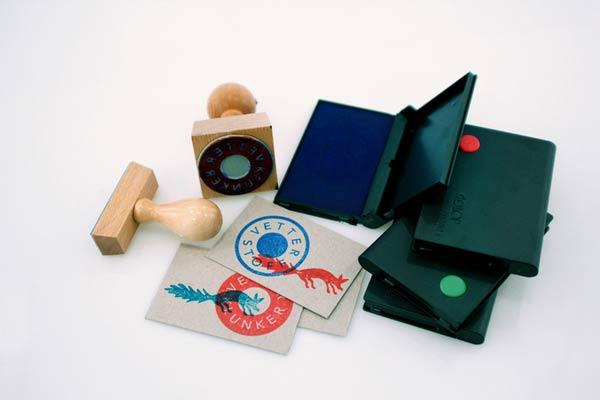 39 Desain Stempel Karet Standar Biasa - Desain Stempel Karet - Christine Vetter 2